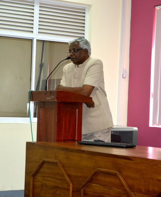 Guest Lecture by Prof. Daya Rohana Athukorala