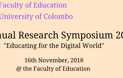 Annual Research Symposium 2018