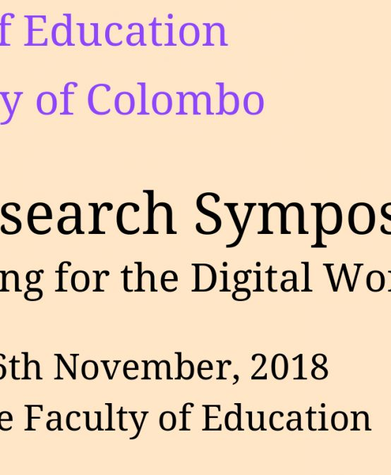Annual Research Symposium -2018