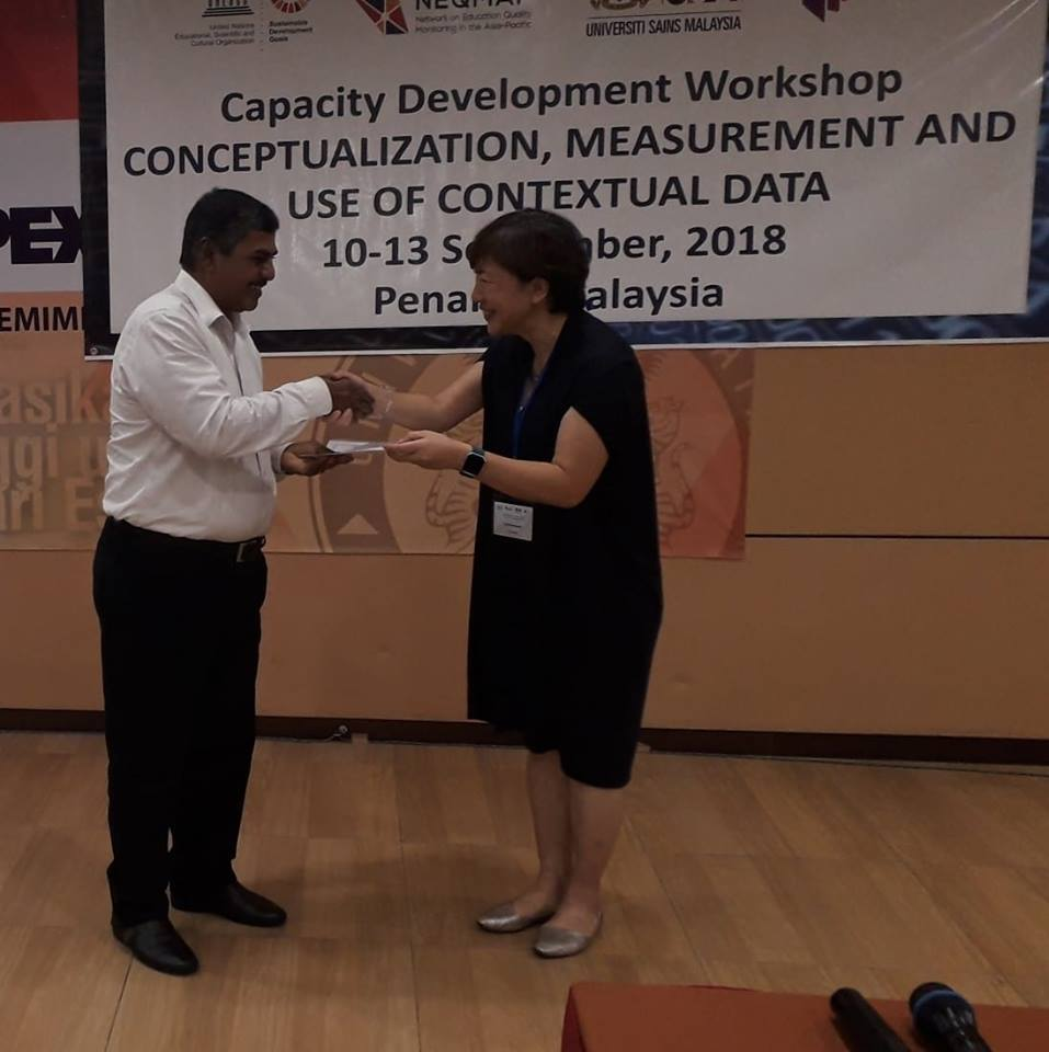Capacity Development workshop at University Sains Malaysia