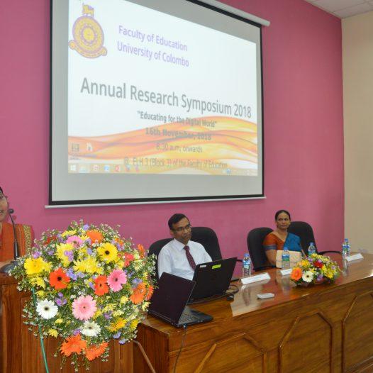 Annual Research Symposium 2018