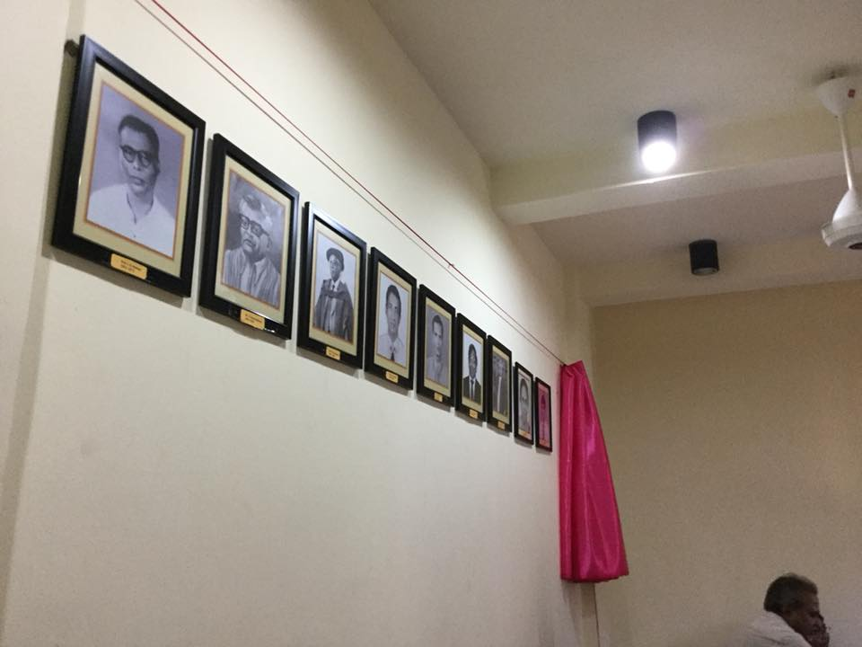 Portrait Unveiling in the Department of Humanities Education