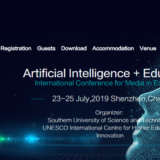 International Conference on Artificial Intelligence + Education  ( ICoME 2019)