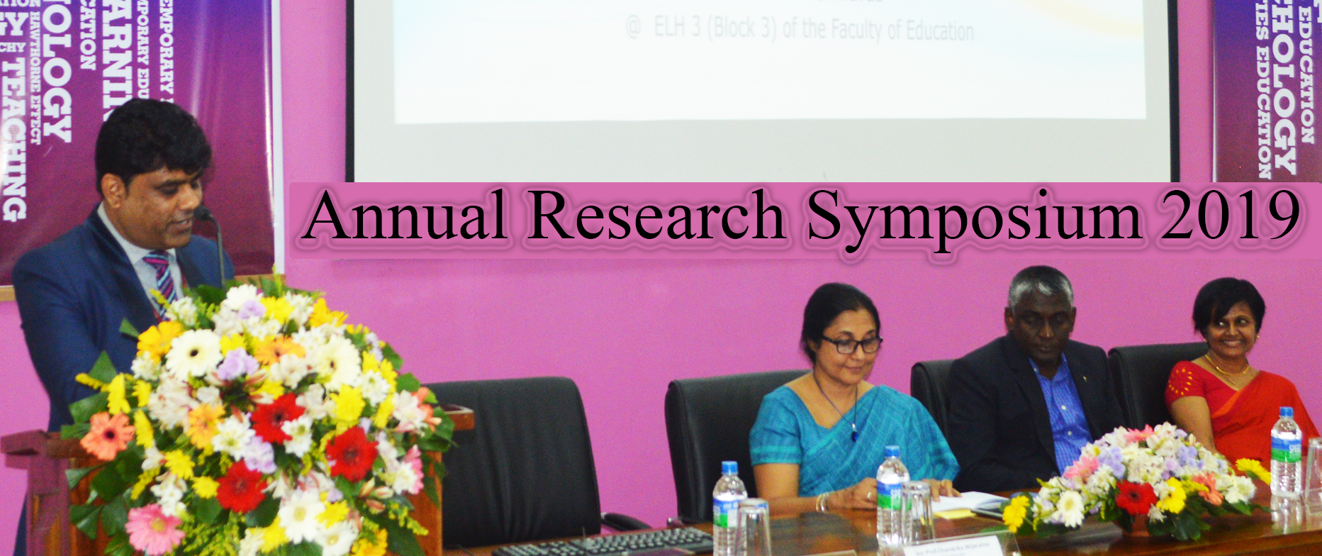 Annual Research Symposium 2019