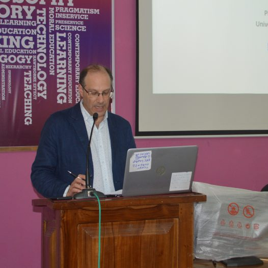 Guest Lecture by Prof. Brad Blitz