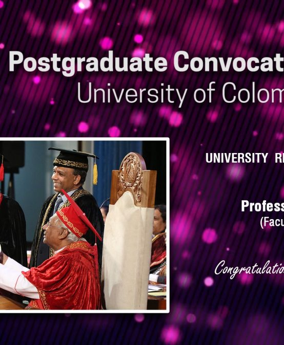 Director NEREC awarded the Vice Chancellor's award for Research Excellence at the Post Graduate Convocation 2018
