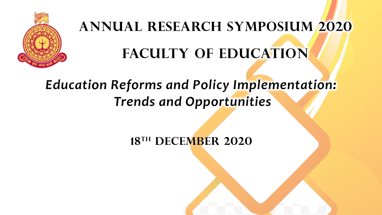 Annual Research Symposium – Live Streaming