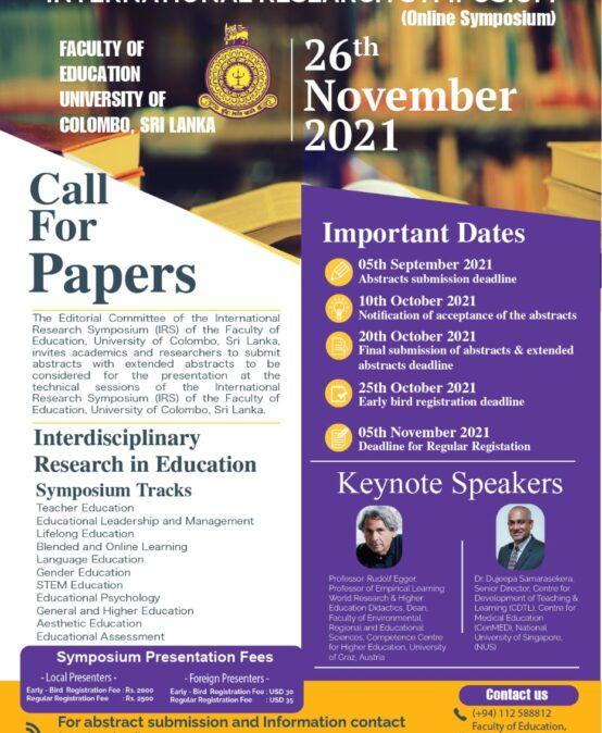 Annual Research Symposium 2021